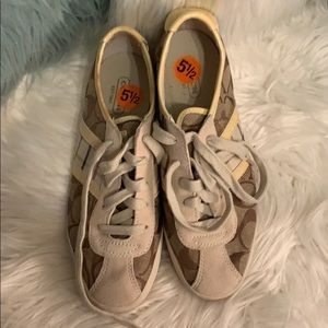 Authentic Coach Sneakers Size 5.5